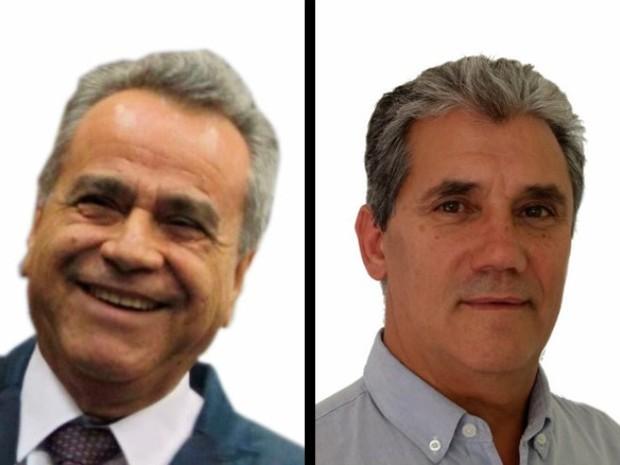 Luiz Carlos (PEN) e Toninho Ferreira (PSTU), candidatos à Prefeitura de São José dos Campos (Foto: Arte/G1)