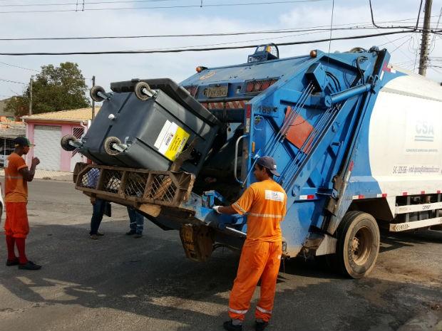 Com a distribuição de contêineres, a coleta de lixo será mecanizada (Foto: Divulgação)