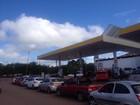 Campanha vai vender gasolina a R$ 1,60 (Abinoan Santiago/G1)