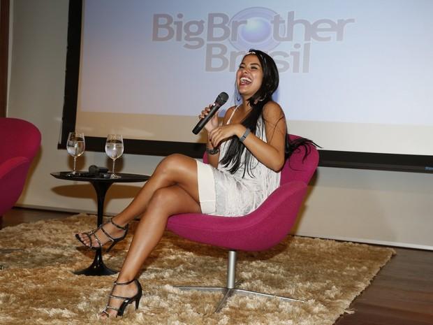 Munik na final do 'Big Brother Brasil 16' (Foto: Marcos Serra Lima/ EGO)
