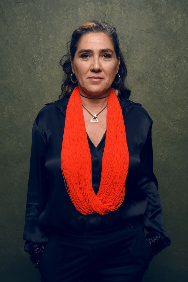 """PARK CITY, UT - JANUARY 26:  filmmaker Anna Muylaert of """"The Second Mother"""" poses for a portrait at the Village at the Lift Presented by McDonald's McCafe during the 2015 Sundance Film Festival on January 26, 2015 in Park City, Utah.  (Photo by Larry Busa (Foto: Getty Images)"""
