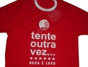 Camisa Tente Outra Vez - Náutico (Foto: Divulgação/TimbuShop)