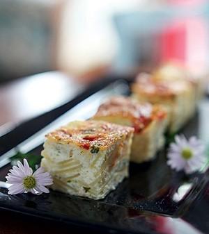 Tortilla de tomate e queijo (Foto:  )