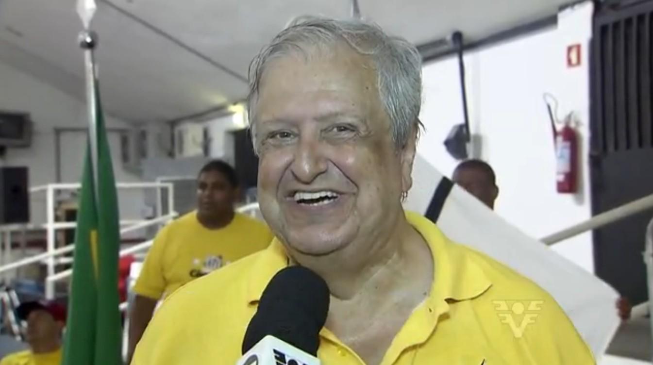 Modesto Roma Júnio, novo presidente do Santos (Foto: Reprodução/TV Tribuna)