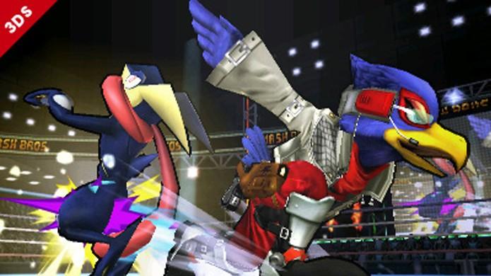 Optando pelo Classic Mode, Falco é o primeiro personagem secreto a desbloquear (Foto: Divulgação)