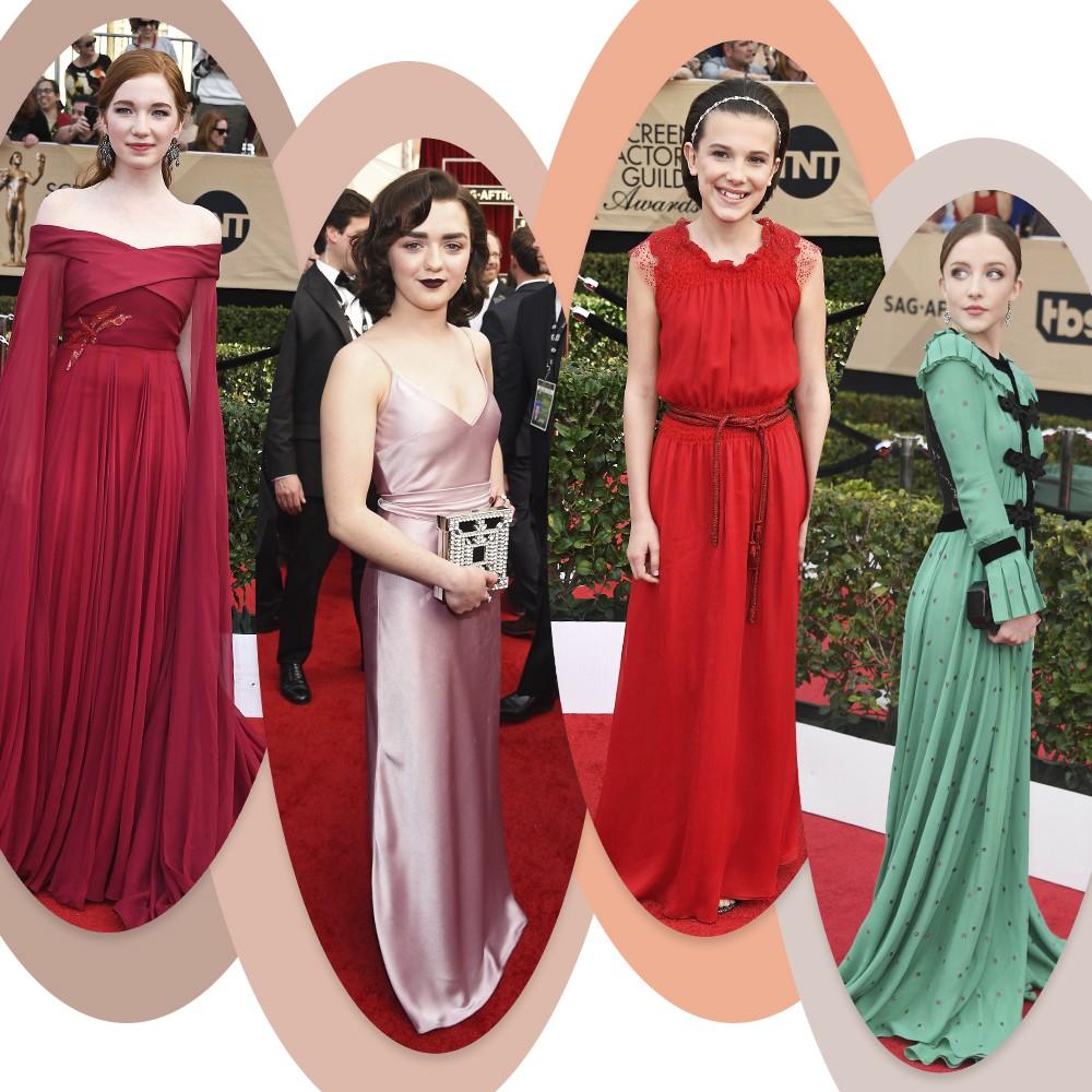 Olho nelas! Nova geração de atrizes rouba a cena no SAG Awards 2017  (Foto: Getty Images)