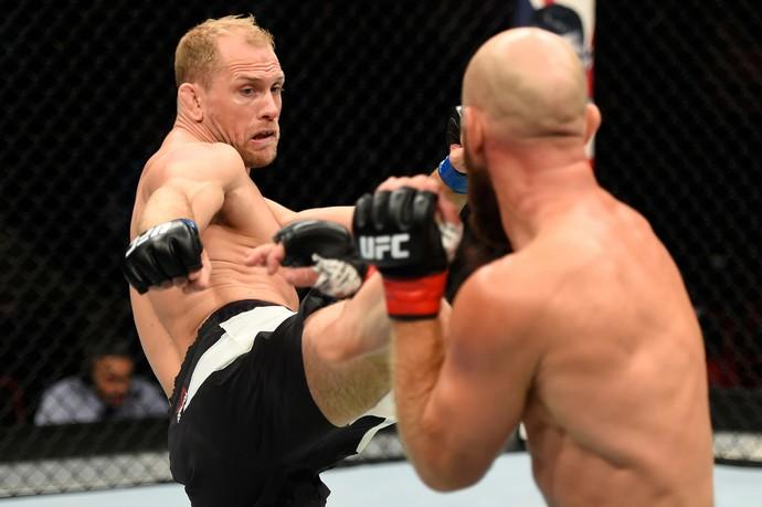 Zak Ottow x Josh Burkman UFC Portland (Foto: Getty Images)