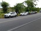Engavetamento de seis veículos em Satuba, AL, deixa uma criança ferida