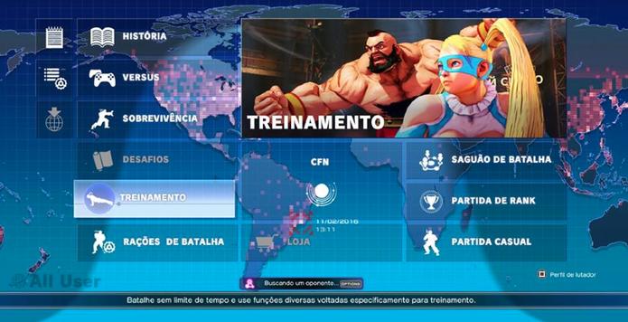 Como mudar a roupa dos lutadores de Street Fighter 5 (Foto: Reprodução/Felipe Vinha)