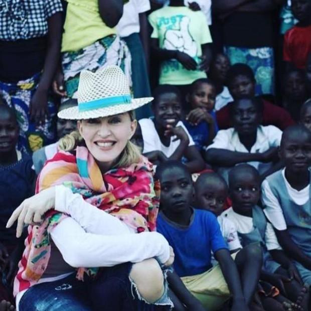 Madonna no Malawi (Foto: instagram / reprodução)