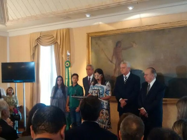 Roseana Sarney deixa cargo de governadora do Maranhão (Foto: Ribamar Cunha/ O Estado)