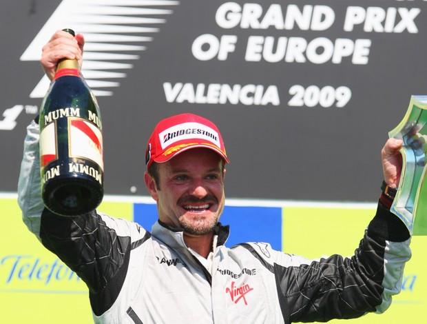 Rubens Barrichello Fórmula 1 Valência (Foto: Agência Getty Images)
