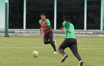 Coritiba faz último treino com equipe completa antes de férias de jogadores