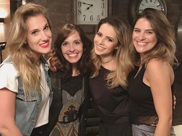 Karina Dohme, Camila dos Anjos, Sandy e Bruna Thedy (Foto: Instagram/ Reprodução)