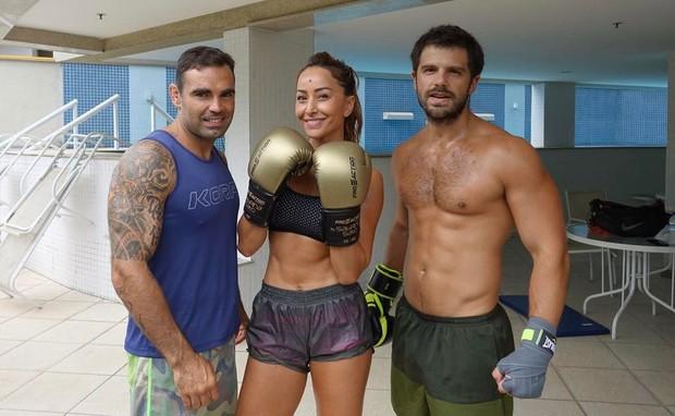 Chico Salgado, Sabrina Sato e Duda Nagle (Foto: Reprodução/Instagram)