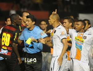 sport x serra talhada hugo (Foto: Antônio Carneiro / Pernambuco Press)