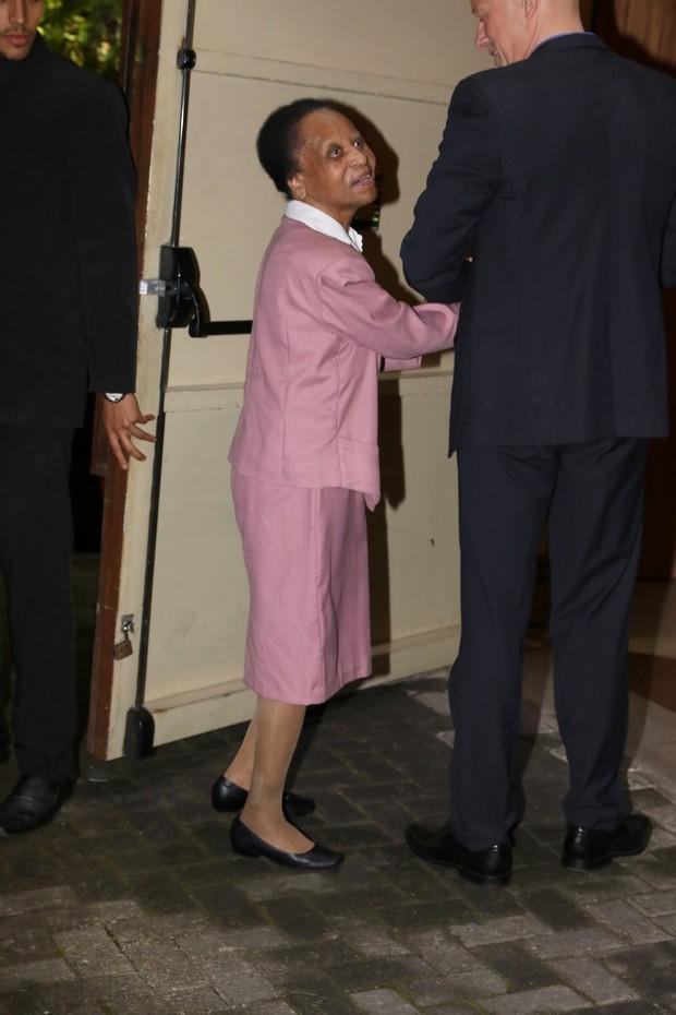 Celeste Arantes, mãe do Pelé (Foto: Thiago Duran e Francisco Cepeda/AgNews)