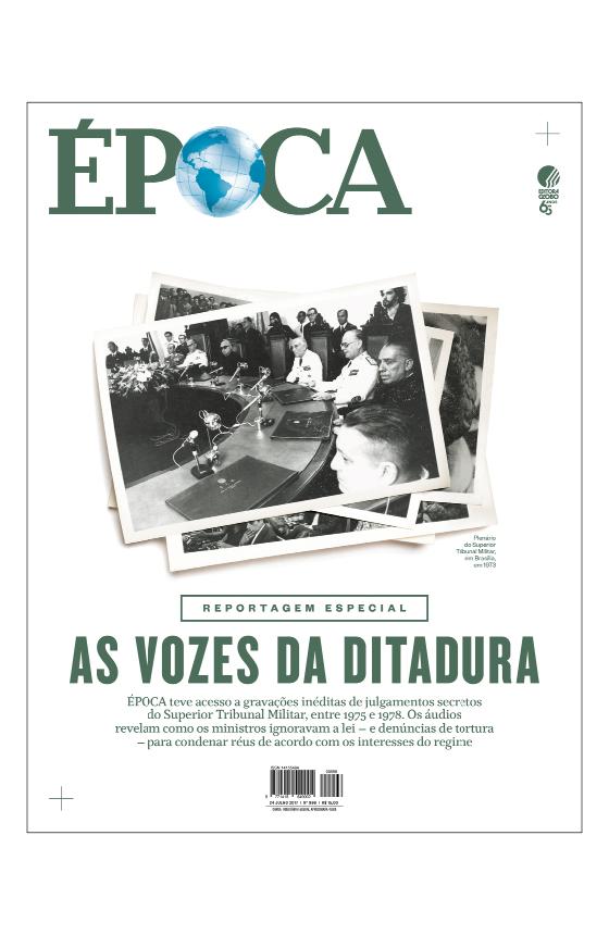 Revista ÉPOCA - capa da edição 996 - As vozes da ditadura (Foto: Revista ÉPOCA)