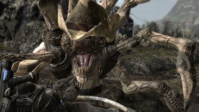 Gears of War: conheça os easter eggs e curiosidades da série (Foto: Reprodução/YouTube)