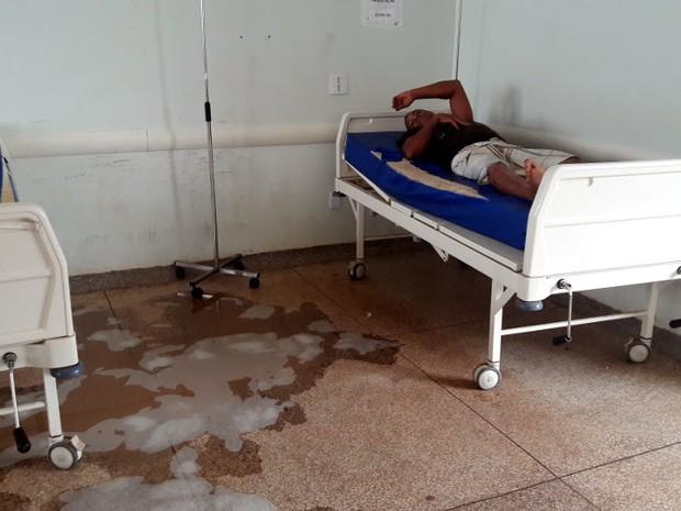 Pacientes deverão ser transferidos para hospital particular até que situação seja resolvida (Foto: Assessoria/TRT/Divulgação)