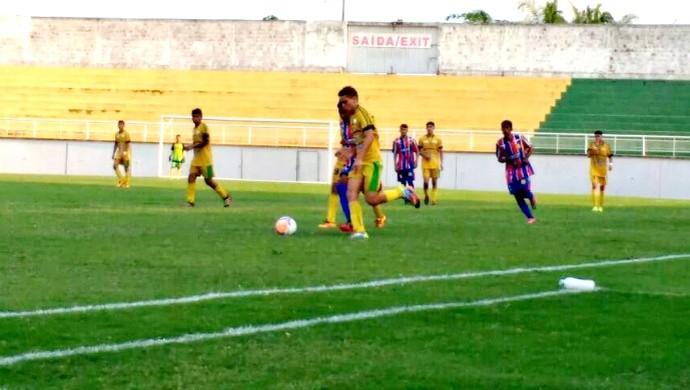 Galvez x Plácido de Castro na final do Acreano de Futebol Sub-17 (Foto: Manoel Façanha/Arquivo Pessoal)