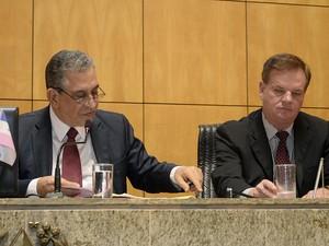 Parlamentares convocaram presidentes da Vale e da Vivo para prestarem depoimento na CPI (Foto: Reinaldo Carvalho/ Ales)