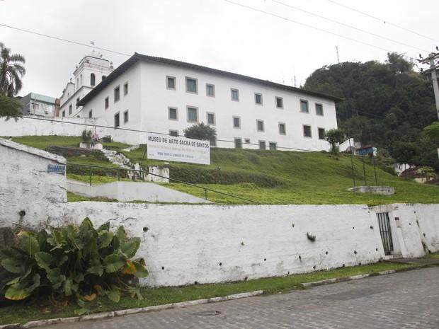 Museu de Arte Sacra de Santos, no litoral de São Paulo (Foto: Ronaldo Andrade / Prefeitura de Santos)