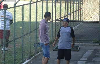 Sacilotto espera exame para saber se enfrenta Joinville; Thiaguinho está fora