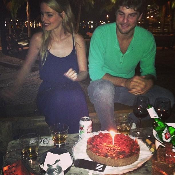 Yasmin Brunet com o marido, Evandro Soldati (Foto: Instagram/ Reprodução)