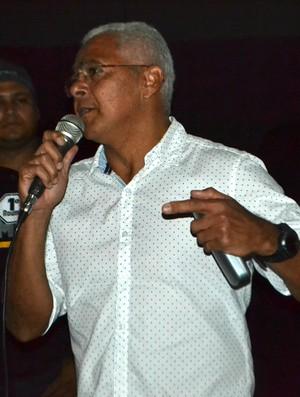 RN - Carlos Eduardo Nascimento, Dadau - secretário de esporte e lazer de natal (Foto: Jocaff Souza/GloboEsporte.com)