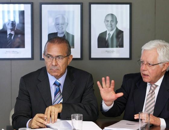 Eliseu Padilha e Moreira Franco (Foto: Ailton de Freitas / Agência O Globo)