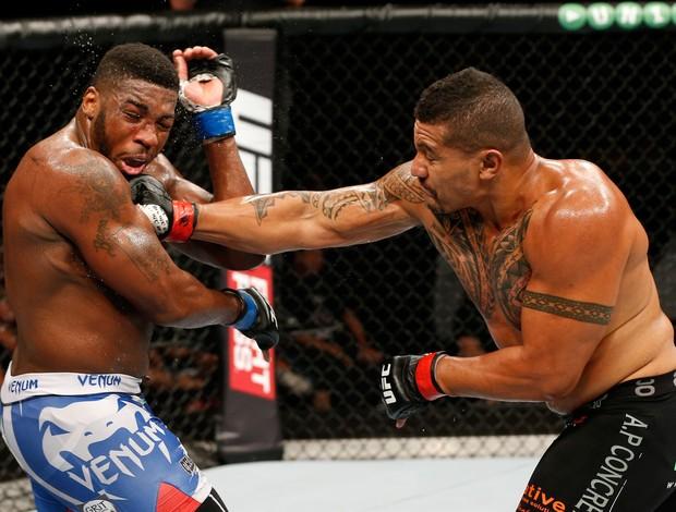 Walt Harris x Soa Palelei UFC (Foto: Getty)