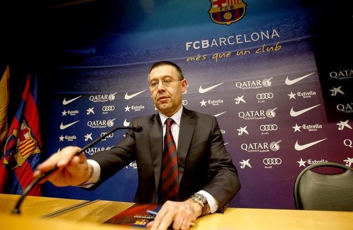Josep Maria novo presidente do Barcelona (Foto: EFE)