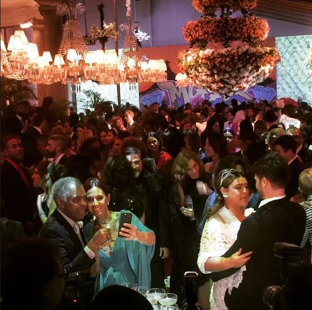 Festa do casamento de Preta Gil e Rodrigo Godoy (Foto: Reprodução/Instagram)