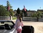 Look do dia: Luma Costa usa visual 'rosa princesa' em viagem pela França