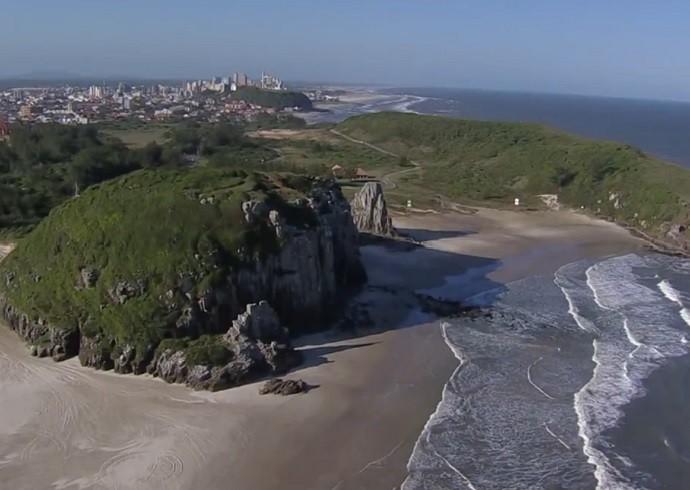 Torres é conhecida por suas praias e dunas (Foto: TV Globo)
