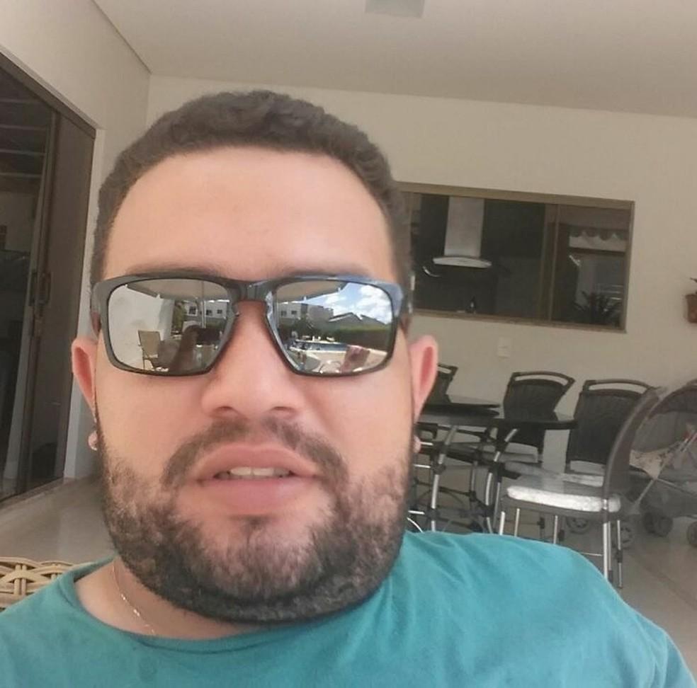 O agrônomo Éder Tadeu Maciel, de 29 anos, desapareceu ao sair para trabalhar (Foto: Arquivo Pessoal)