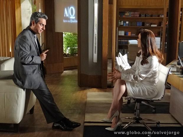 Stenio pede a verdade sobre o caso de Théo (Foto: Salve Jorge/TV Globo)