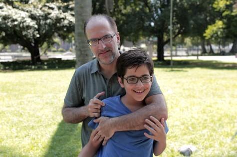Antonio Tabet e o filho, Pedro (Foto: Divulgação)