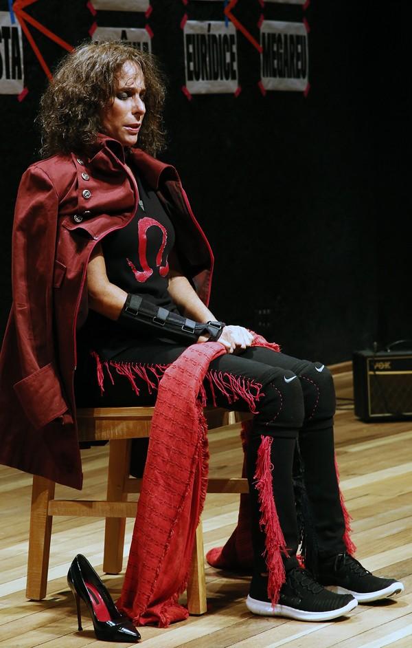 Peça estrelada por Andréa Beltrão está na programação do Festival de Curitiba (Foto: Divulgação)