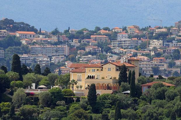 A casa mais cara do mundo, Les Cedres, fica na Cote D'Azur (Foto: © INFphoto.com)