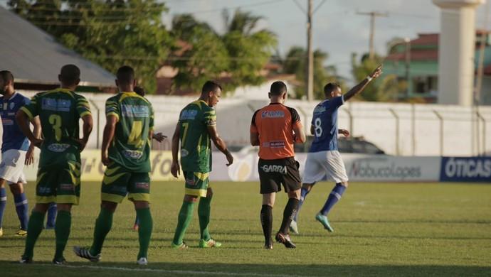 CSA x Sete de Setembro gol de Everton Heleno (Foto: Alisson Frazão/AscomCSA)