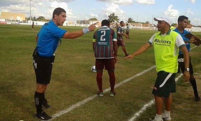 Ricardo Laranjeira, árbitro (Foto: Cortesia / Romário Silva)