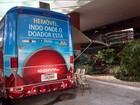 Hemóveis atendem doadores de sangue em 2 shoppings de Salvador