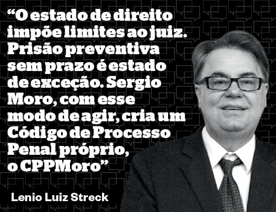 Lenio Luiz Streck é membro da Academia Brasileira de Direito Constitucional, pós-doutor em Direito e professor da Unisinos e Unesa (Foto: Divulgação)