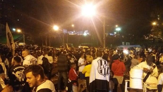Torcida Ponte Preta Majestoso (Foto: Heitor Esmeriz)