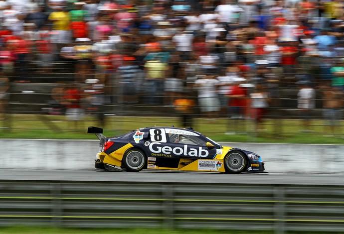 Suzuki abriu temporada da Stock Car com top-10 e vem demostrando crescimento a cada temporada (Foto: Carsten Horst/Hyse)