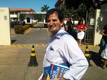 Bacharel Noel, em Cuiabá (Foto: Dhiego Maia/G1)