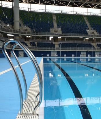 Inauguração Estádio Aquático Parque Olímipico Rio 2016 (Foto: Beth Santos / Prefeitura do Rio)