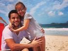 Jogador Fred lamenta Dia dos Pais longe da filha: 'Fui cobrado por ela'